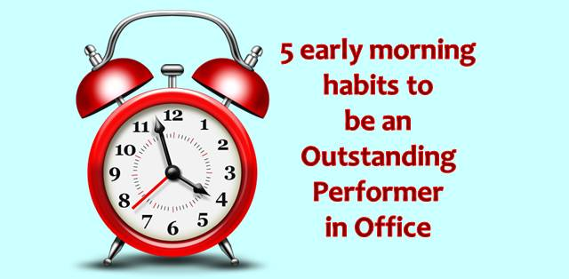5 early morning habits