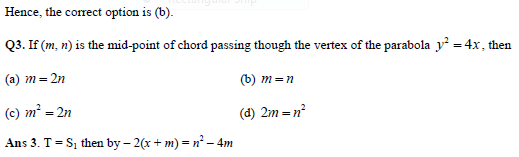 Parabola practice question