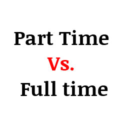 Part Time Vs. Full time MBA
