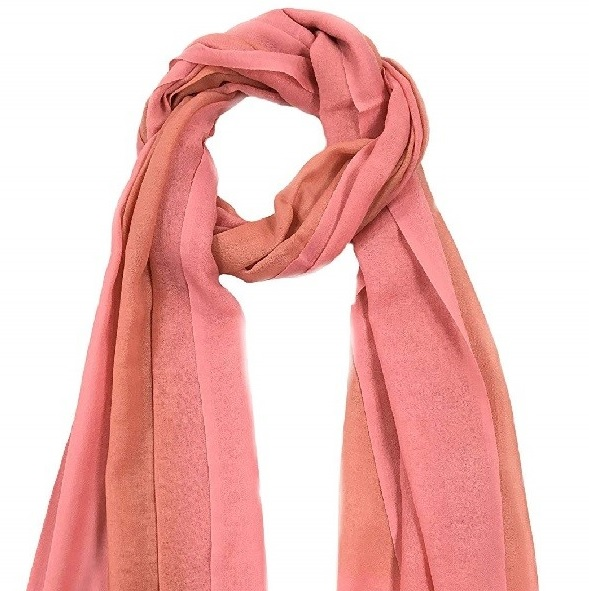 Peach colored stole