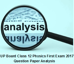 physics paper first analysis