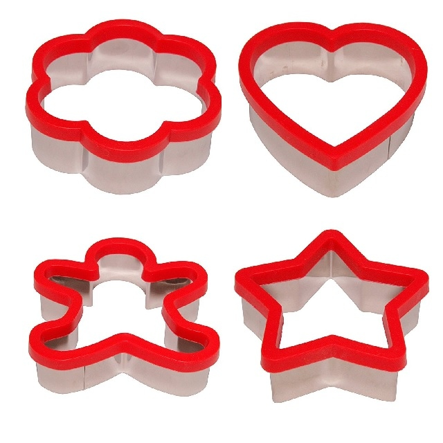 Red Cookie Cutter Set