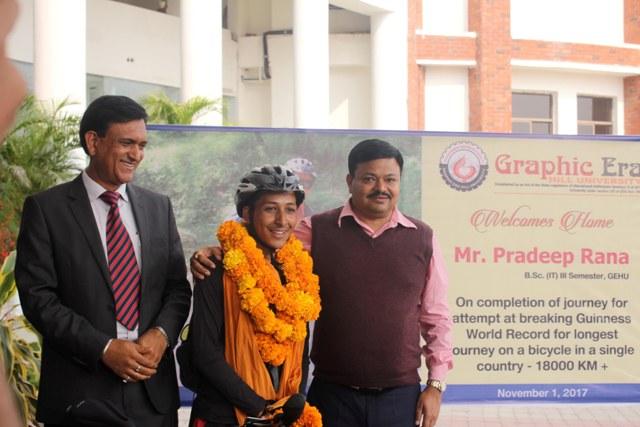 Pradeep Rana Awarded
