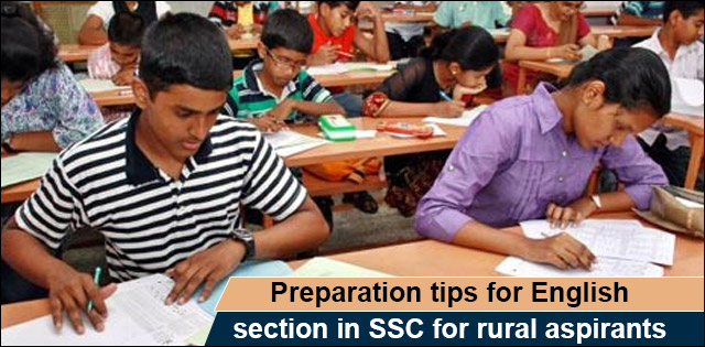 SSC English for rurals