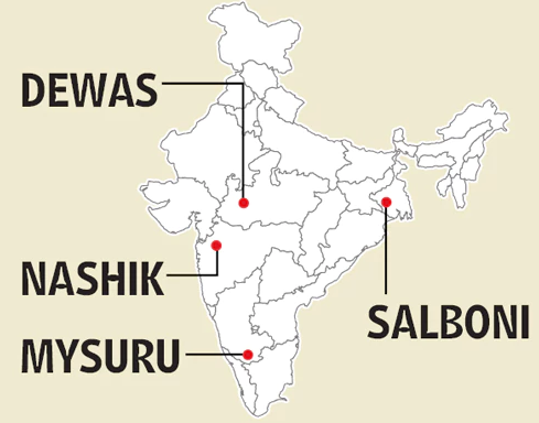 printing press in india