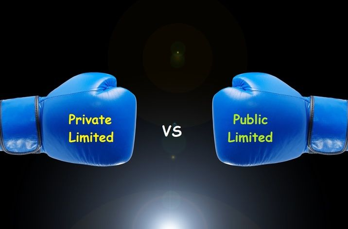 Private company vs.Public-company