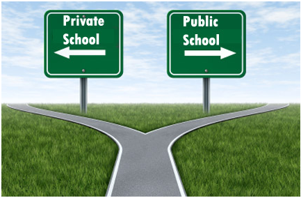private and public schools