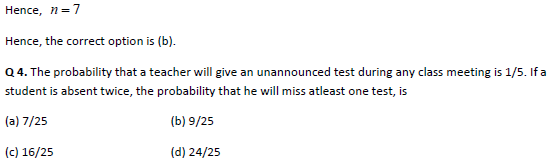 Probability practice question