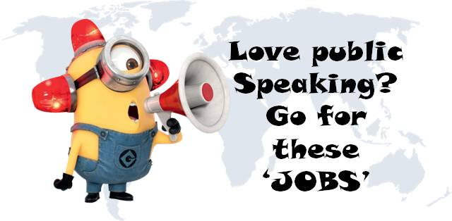 Public Speaking Careers