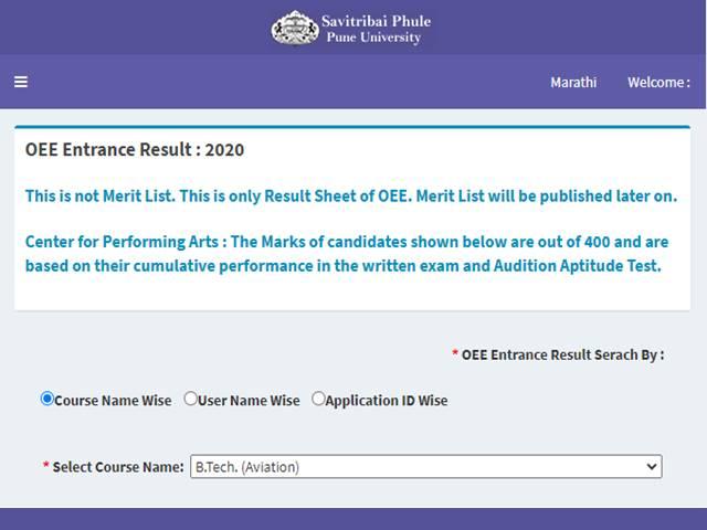 Pune University Entrance Exam Syllabus 2021