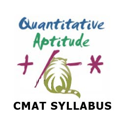 Common Management Admission Test (CMAT) Syllabus: Quantitative Aptitude