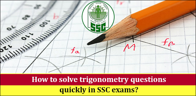 SSC trigonometry tips