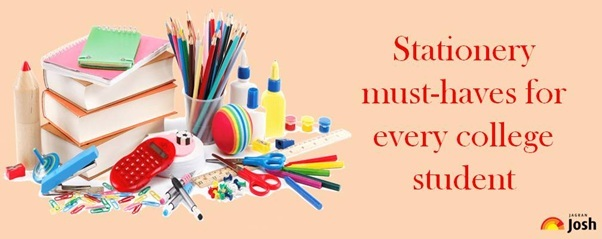 Stationery must-haves for every college student