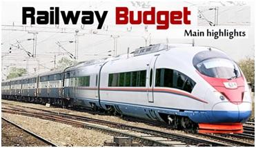 Rail budget main highlights