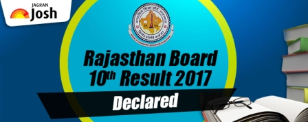 Rajasthan Board RBSE 10th Result 2017 Declared, Find your scores on rajresults.nic.in