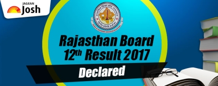 Rajasthan 12th Arts Result 2017 Announced, Available Now on www.rajresults.nic.in