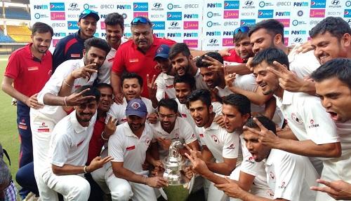 ranji trophy winner 2016 17