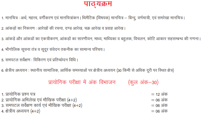 class 12 practical geography in hindi