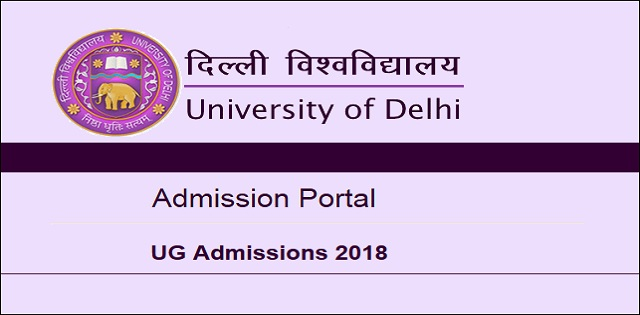 DU registration for academic session 2018-19
