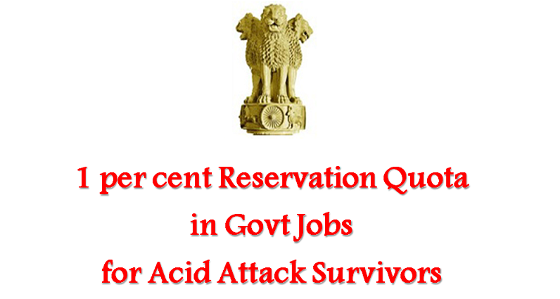 Reservation Quota for Acid Attack