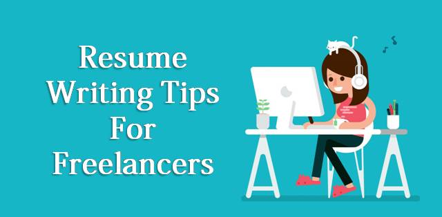 Resume writing tips for freelancers