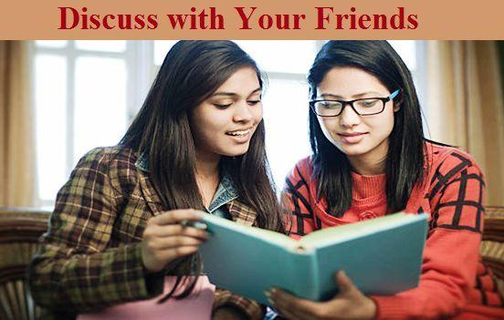 Study Tips, Study with Friends