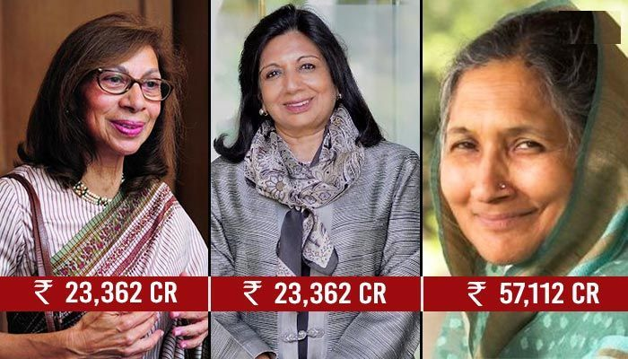 rich indian ladies