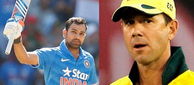 rohit and ponting