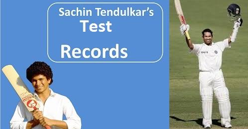 sachin test records