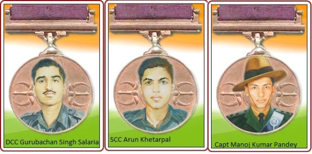 Param Vir Chakra Awardees from National Defence Academy