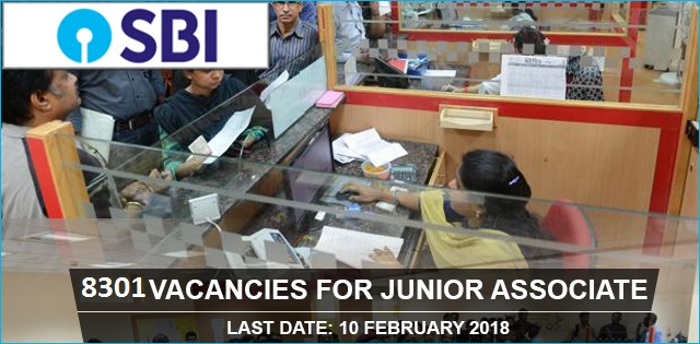 SBI Junior Associate Jobs 2018