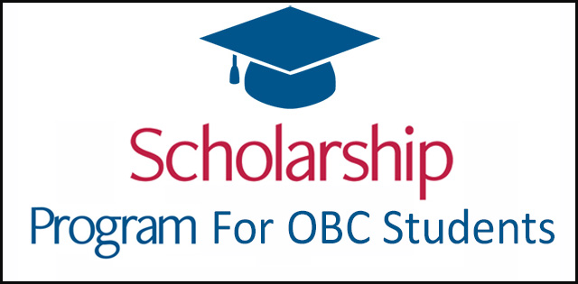 Pre And Post Matric Scholarships For Obc Students Of Delhi Up Board
