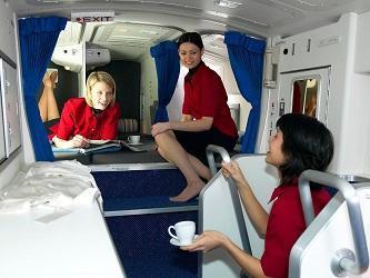 secret airplane bedrooms