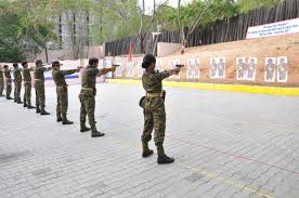 shooting-practice in IPS training