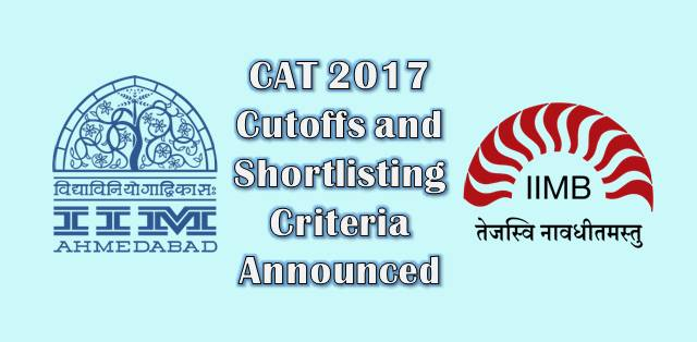 CAT 2017 Results