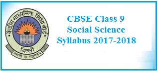 class 9 social science syllabus, social science syllabus 2017-2018, cbse class 9, cbse, cbse syllabus 2017-2018