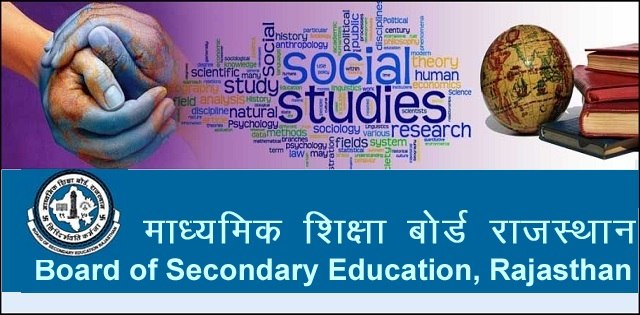 model test paper for Rajasthan Board Class 10 Social Science