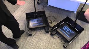 How Teleprompter used in various speeches