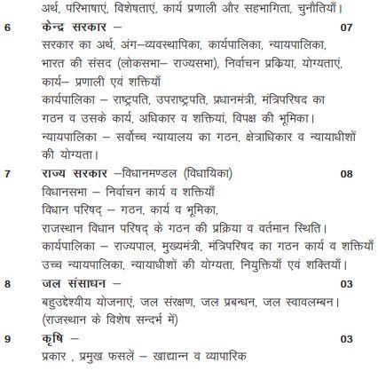 class 10th rajasthan board