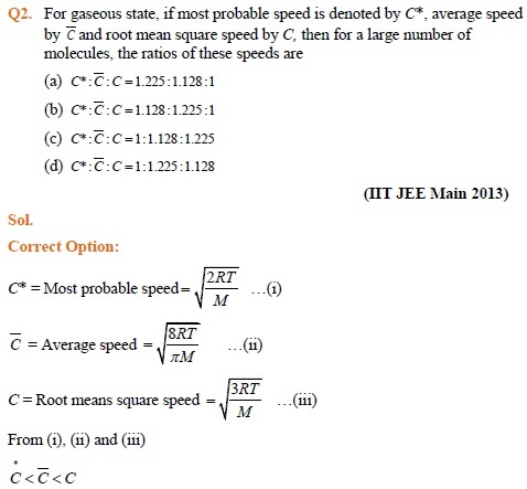 States of Matter – IIT JEE Important Questions & Preparation