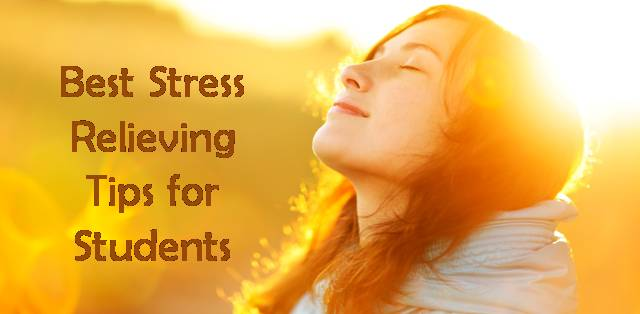 Stress relieving tips for college students