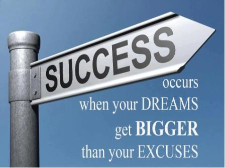 Success VS Excuses