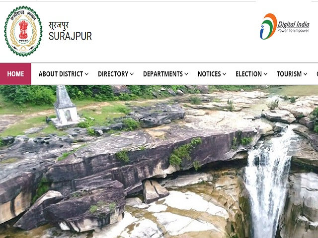 Surajpur District Forest Guard posts 2019