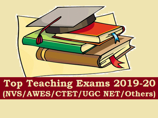Teaching Jobs & Exams 2019