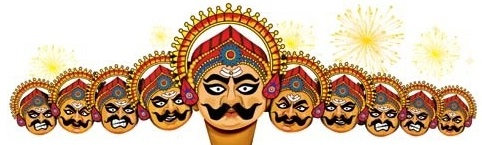 ten heads of ravana