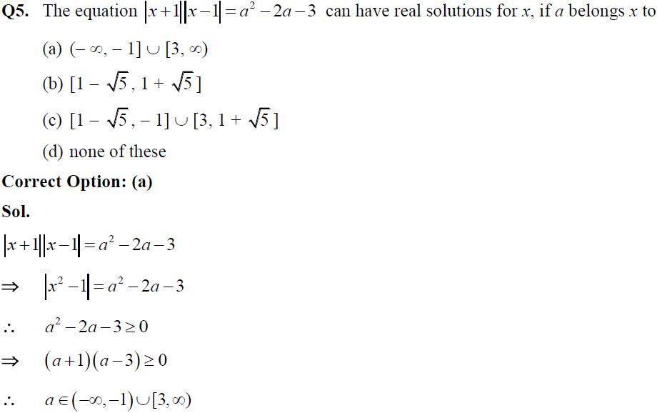 Theory of equation, IIT JEE, UPSEE