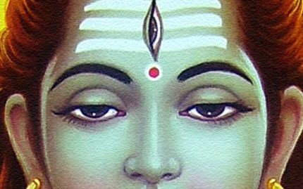 third eye of shiva