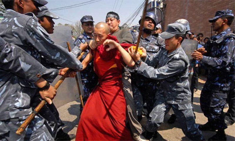 tibet revolt