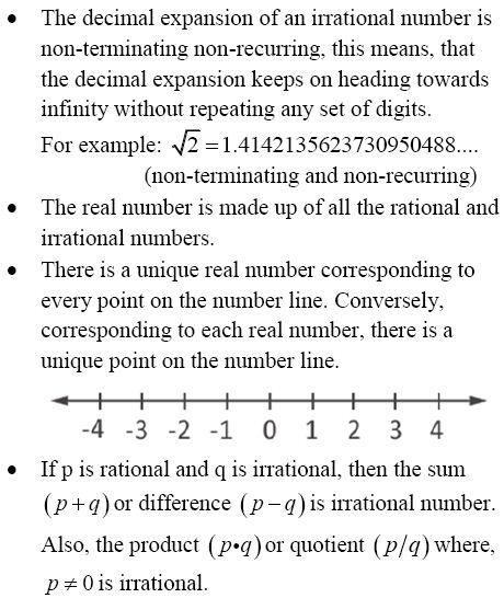 CBSE Class 9 Maths, Chapter 1:Important topics and questions