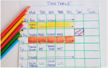 how to put timetable up on mindbody